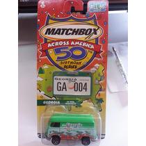 Matchbox Combi Across America Vw Panel Tranporter D Coleccio