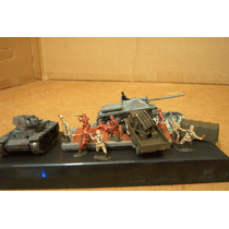 Lee Anunc Lote Diorama & 3 Vehiculo Ruso C 10 Figura 1/72