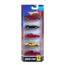 Tb Hot Wheels Ferrari 5-pack - Styles May Vary