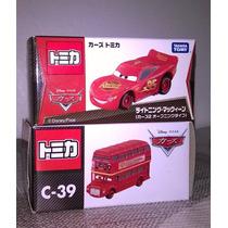 Mc Queen Rayo Tooper Decktington Autobus Ingles Tomica Cars