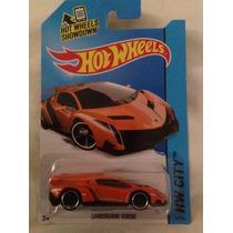 Hot Wheels Lamborghini Veneno Naranja