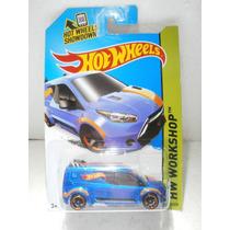 Hot Wheels Camioneta Hw Ford Transit Connect Azul21/250 2014