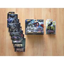 Set 10 Hot Wheels Pelicula Batman Vs Superman Completa !!!