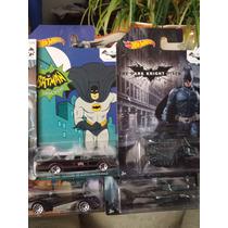 Hotwheels Serie Completa 75 Aniversario Bat Man. Esc 1:64
