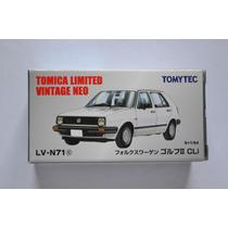 Vw Golf Cli Color Blanco Tomica Limited Vintage
