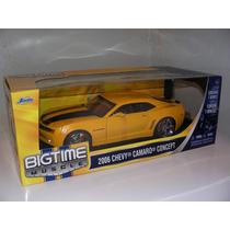 Camaro 2006 Concept 1:18 Bigtime Muscle Nuevo 100% En Caja!!