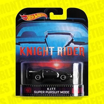 Hot Wheels Kitt Super Pursuit Mode Retro Entertainment