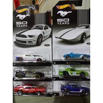 Hotwheels, Coleccion Completa 14 Pz. 50 Aniversario Mustang.