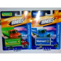 No Hotwheels Taximania Set De 2 Camiones Trailers Walmart