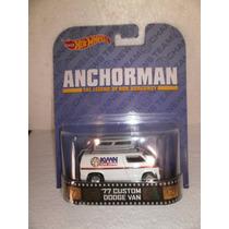 Hot Wheels Retro Anchorman 77 Custom Dodge Van Blanco