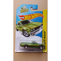 Camioneta Datsun 620 Verde Hot Wheels Die Cast 1/64