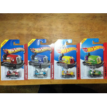 Paquete Hot Wheels 4 Bump Around Carritos Chocones