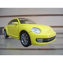 Volkswagen New Beetle 2012 (amarillo) - Welly - 1/38