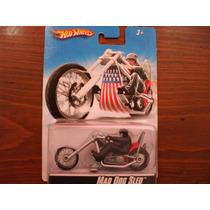 Hot Wheels Motor Cycles Mad Dog Sled