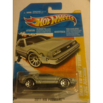 Time Machine Back To The Future Hot Wheels