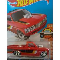 Hotwheels Custom 72 Chevy Luv Roja