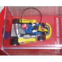 Micro R/c Original Michael Schumacher Go Kart 1/24
