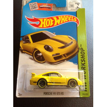 Hot Wheels Porsche 911 Gt3 Rs Amarillo