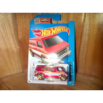 Super Van Hw Fire Chief No. 1 Hw Jefe De Bomberos Hot Wheels