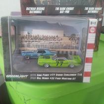 Greenlight Diorama 70 Challenger & 68 Mustang Gt Serie 4