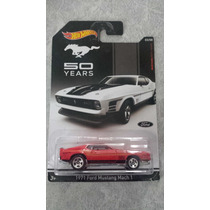 1971 Ford Mustang Mach 1 50 Años Hot Wheels Edicion Limitada