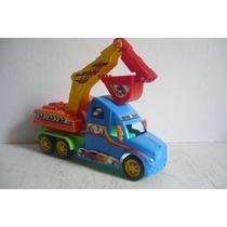 Camion Con Pala Mecanica - Camioncito De Juguete Escala