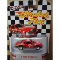 Hot Wheels Retro T-bird Stocker Llantas De Goma