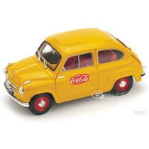 Brumm 1/43 Fiat 600 Cocacola 1961 Diecast/ Burago Maisto