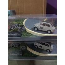 Diorama (maqueta), Fiat Nuevo 500 Eco # 36. En Escala 1:43.
