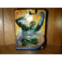 Green Lantern Linterna Verde Hot Wheels Dc Comics 2012