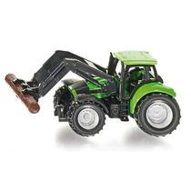 Tractor Con Cargador De Troncos Siku Nuevo!