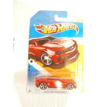 Hot Wheels 12 Camaro Zl1 Rojo 9/247 2012