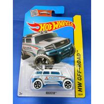 2013 Hot Wheels Rockster Blanco Hw Off-road
