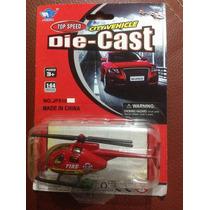Feisu Helicoptero Rojo Escala 1:64