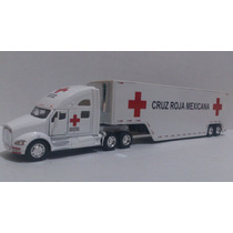 Trailer Kemworth T700 Cruz Roja Mexicana Esc. 1:68