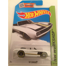 Hot Wheels 69 Camaro Convertible Blanco