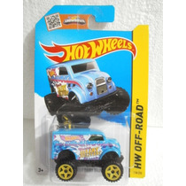 Hot Wheels Monster Dairy Delivery Azul 118