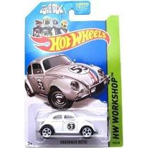 2 X Hot Wheels 2014 Volkswagen Beetle. Bug Herbie The Love.
