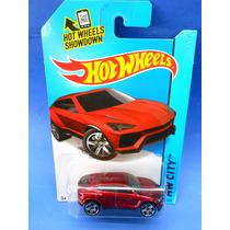 2013 Hot Wheels Lamborghini Urus Rojo Hw City