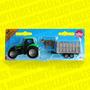 Siku Tractor Con Remolque Y Ganado Tipo Hot Wheels