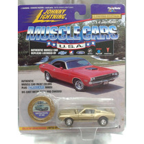 Johnny Lightning - 1968 Mustang Ford Shelby Gt-500 De 1996