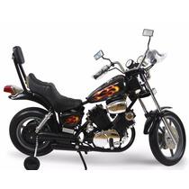 Scooter Moto Estilo Harley Davidson Electrica Para Niños
