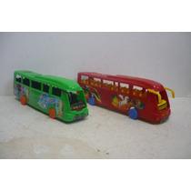 Autobus Scania Irizar Set De 2 - Camioncito D Juguete Escala