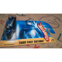 Hot Wheels 2008 First Edition Ford Focus Azul Lyly Toys