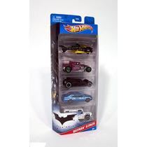 Batman Dark Knight Batimobil Batimovil 5 Carritos Hot Wheels