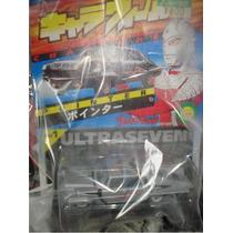 Ultraseven Carrito Charawheels Japones Escala 1/64