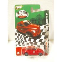 Taxi Mania Taxi Elegante Df Rojo 1:64