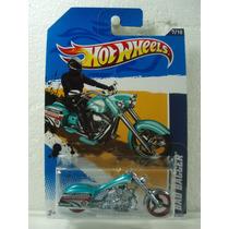 Hot Wheels Moto Bad Bagger Azulpatrulla 137/247 2012 Tl 1:64