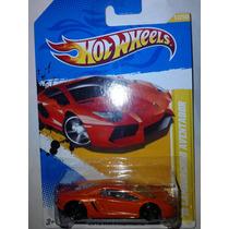Hot Wheels 12 Lamborghini Aventador Naranja 2012 Premiere