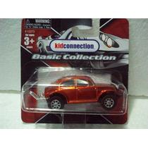 Maisto Vw Bug Maranja Metalico 1/64 Metal